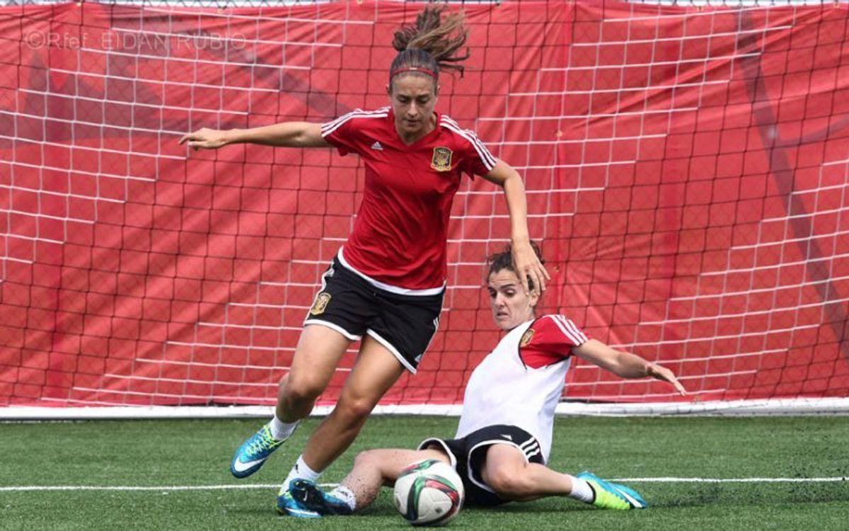 Vuit blaugranes a la convocatòria de la selecció espanyola