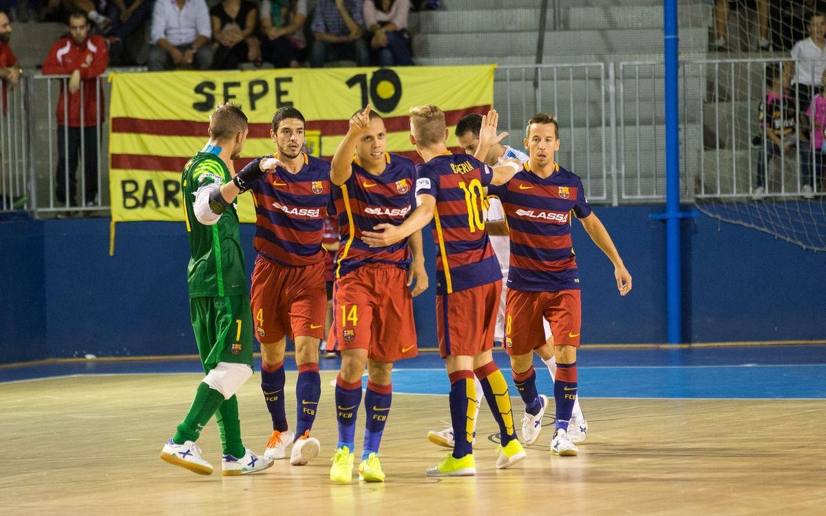La LNFS, liderada pel Barça Lassa