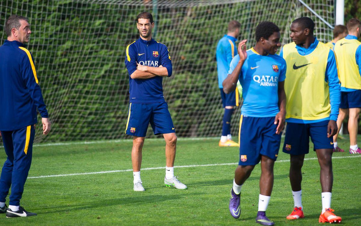 "Gerard López: ""Hem de competir cada partit com si fos l'últim"""