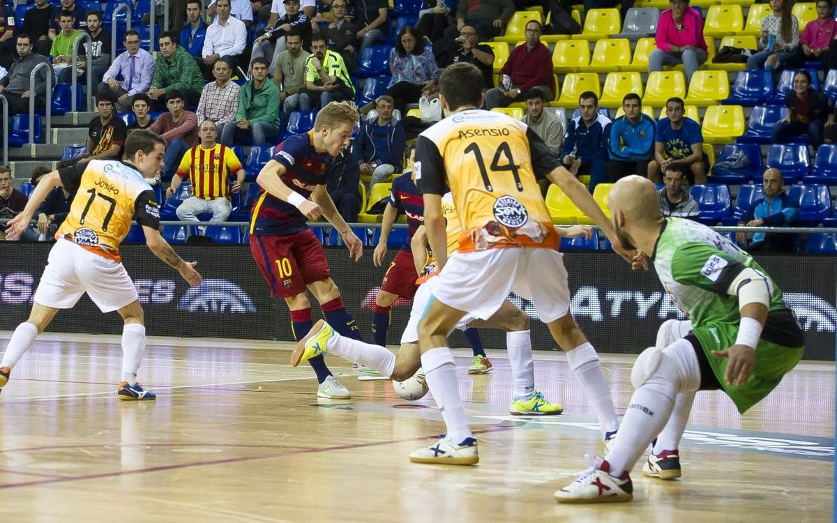 FC Barcelona Lassa - Peniscola Rehabmedic: Ticket to the semi-finals (6-2)