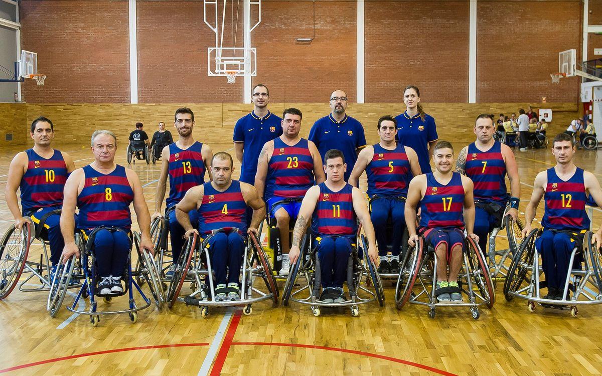 L'UNES Barça es presenta davant la seva afició