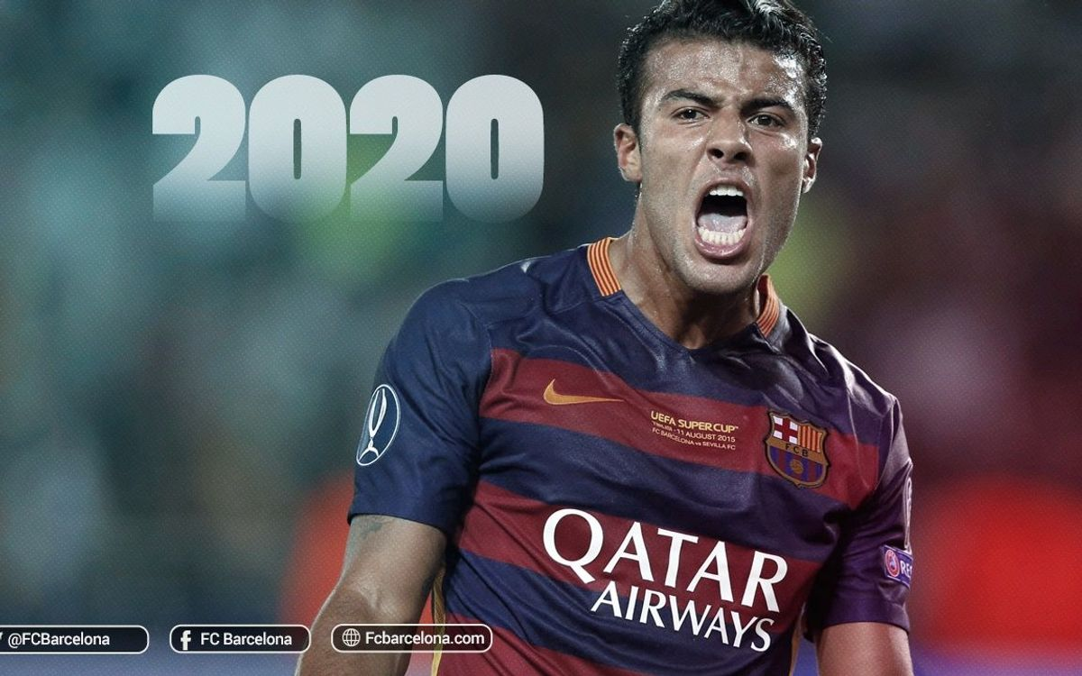 Agreement to extend Rafinha's contract to 30 June 2020
