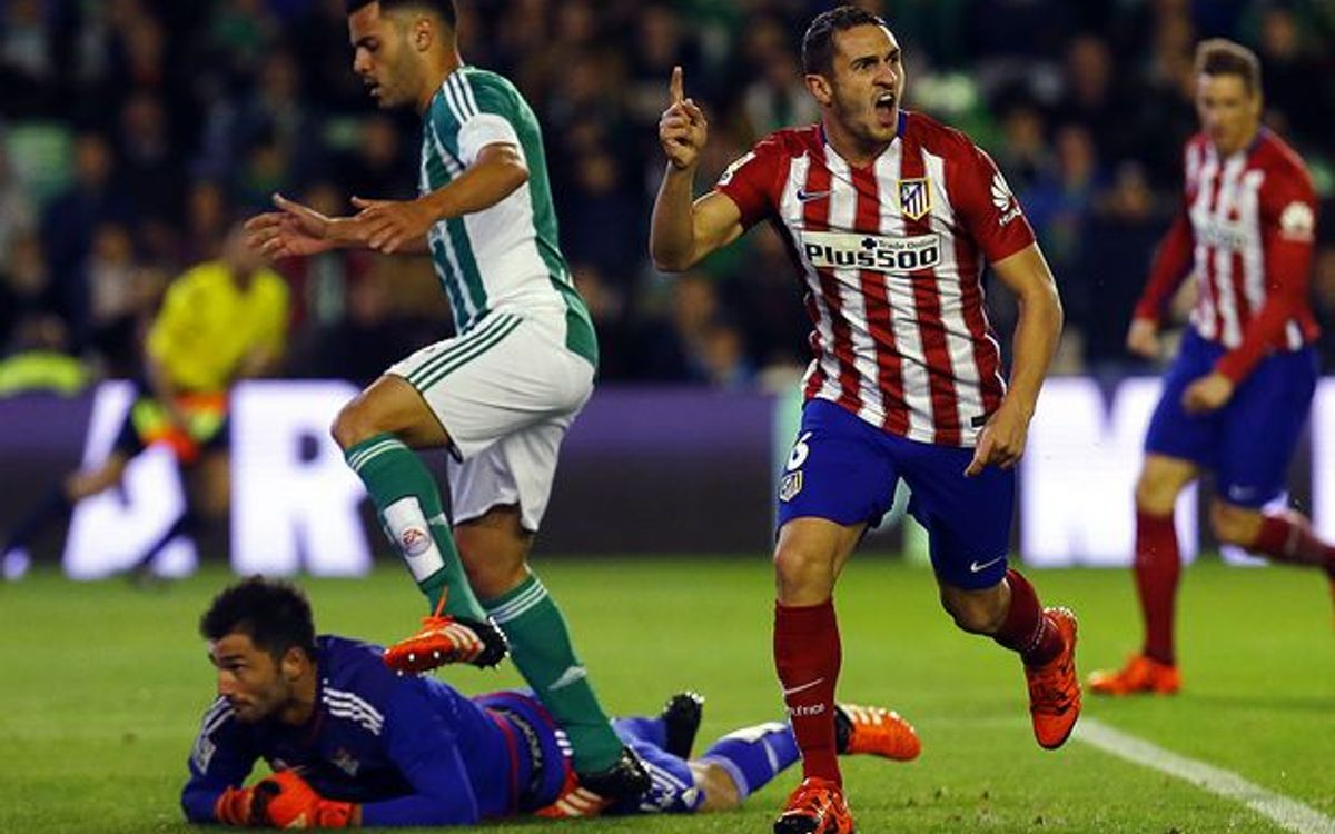 Rival watch: Atlético Madrid go second