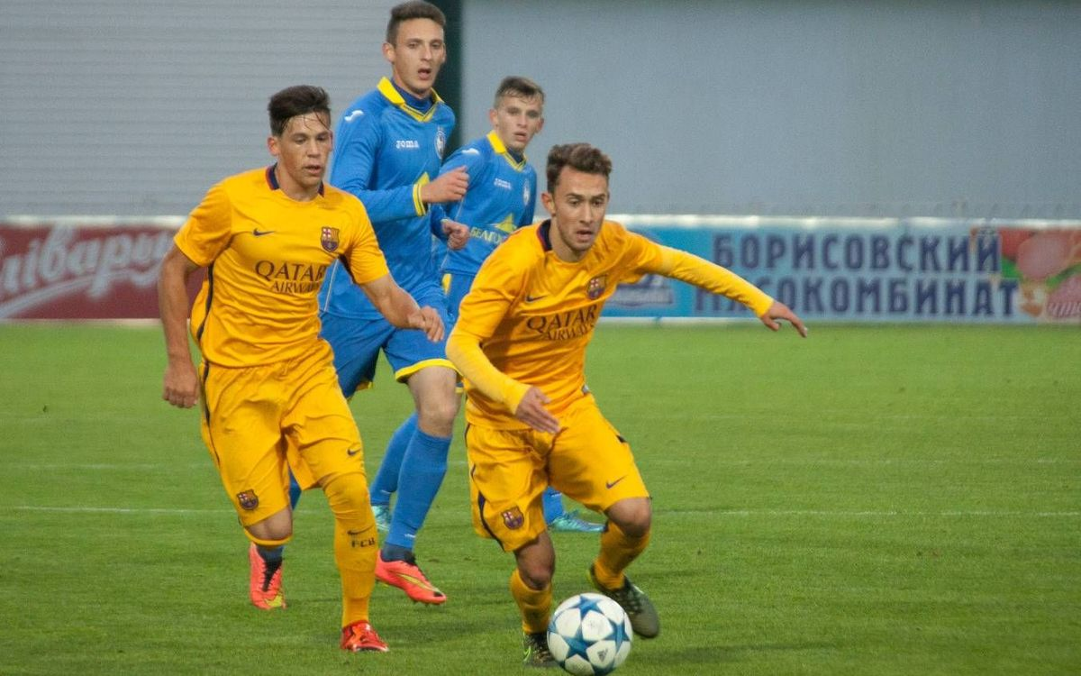 BATE Borisov v FC Barcelona U19: Convincing display in Belarus (0-3)