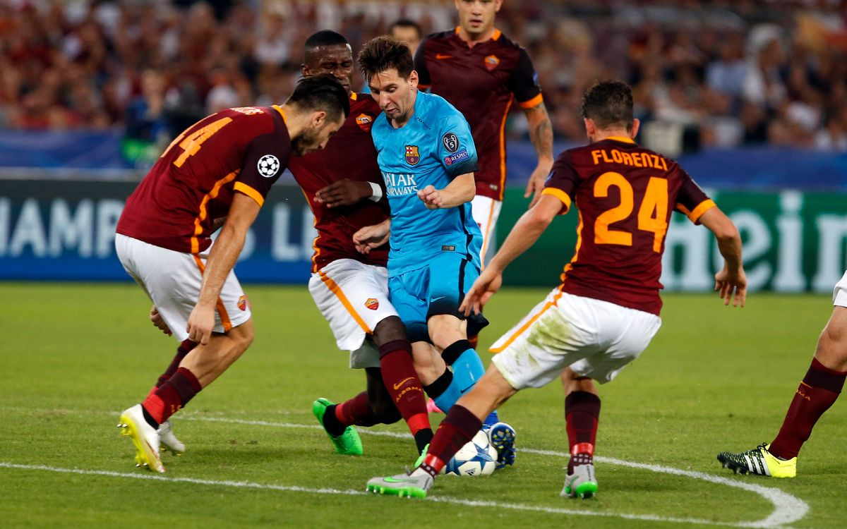 FC Barcelona v AS Roma: Did you know?
