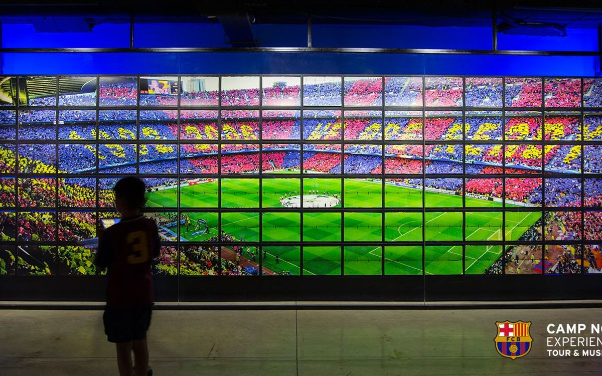 New multimedia installations at the FC Barcelona Museum