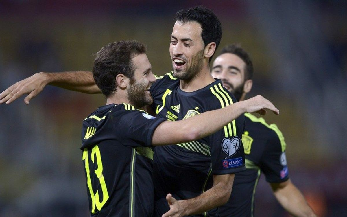 Spain on the verge of qualification for Euro 2016 after 1-0 win in FYR Macedonia