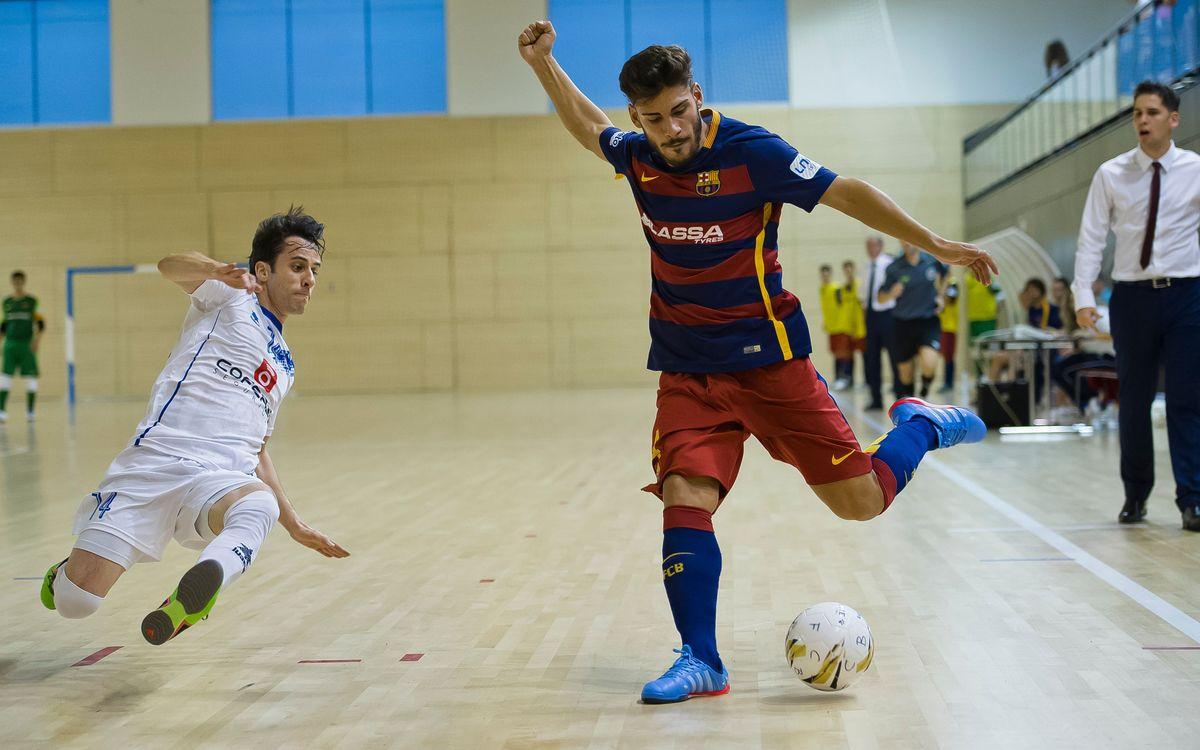 El Barça Lassa B empata a Segòvia