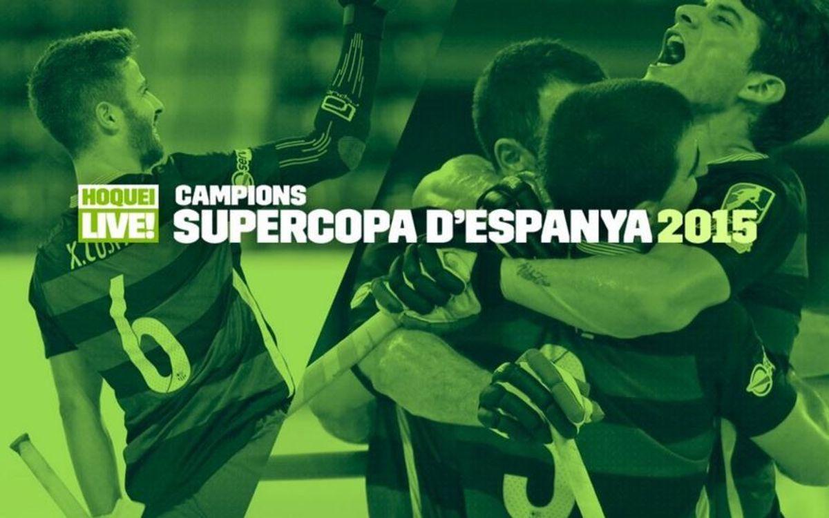 La novena Supercopa d'Espanya per al Barça Lassa d'hoquei