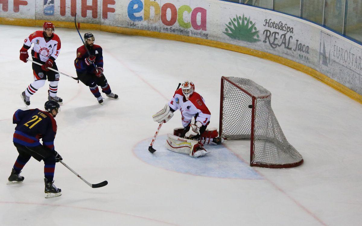 Derrota a la primera jornada de la Lliga Nacional d'hoquei gel