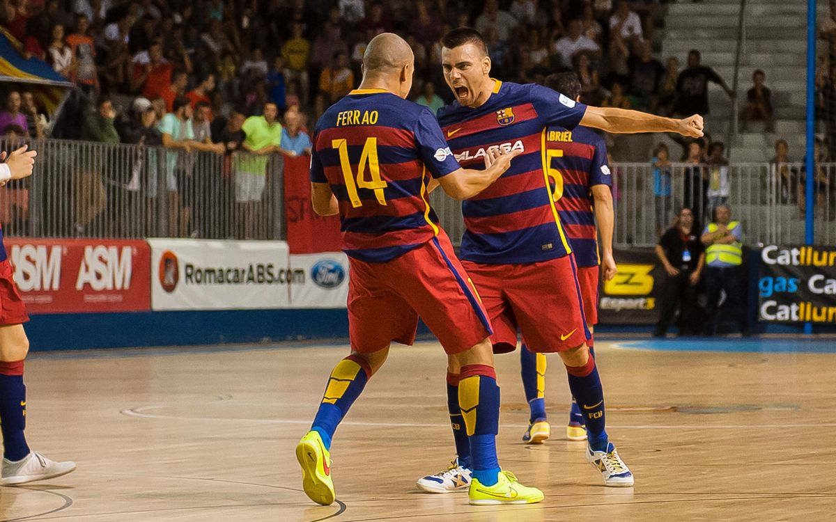 Agüimes Profiltek FS – FC Barcelona Lassa: Record win in the Copa del Rey (0-15)