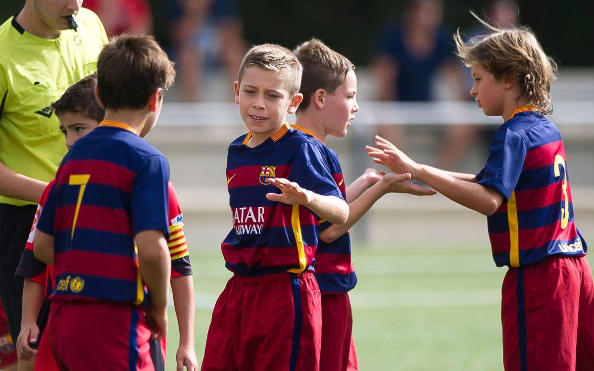Més debuts a la Lliga al futbol base blaugrana