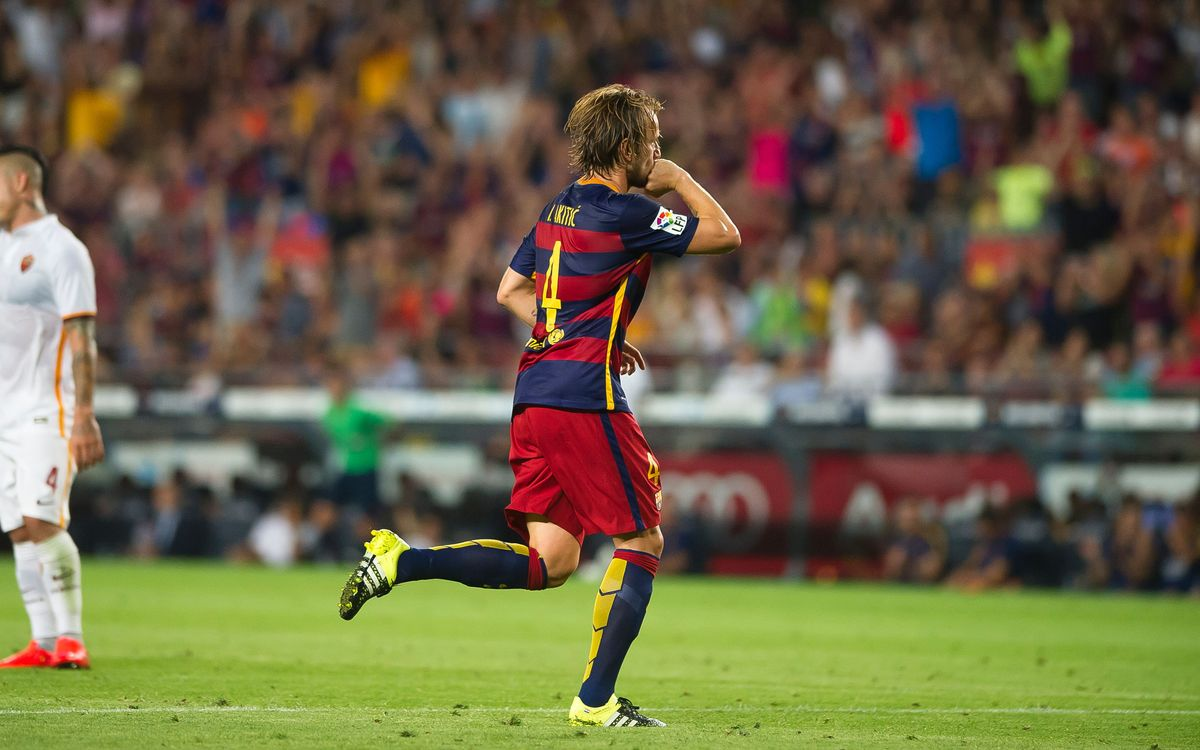 Ivan Rakitic named Croatia's best player for 2015
