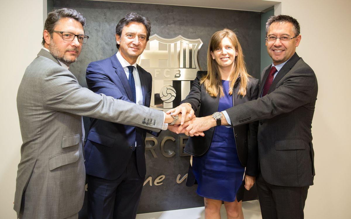 El FC Barcelona i MoraBanc renoven el seu acord de patrocini
