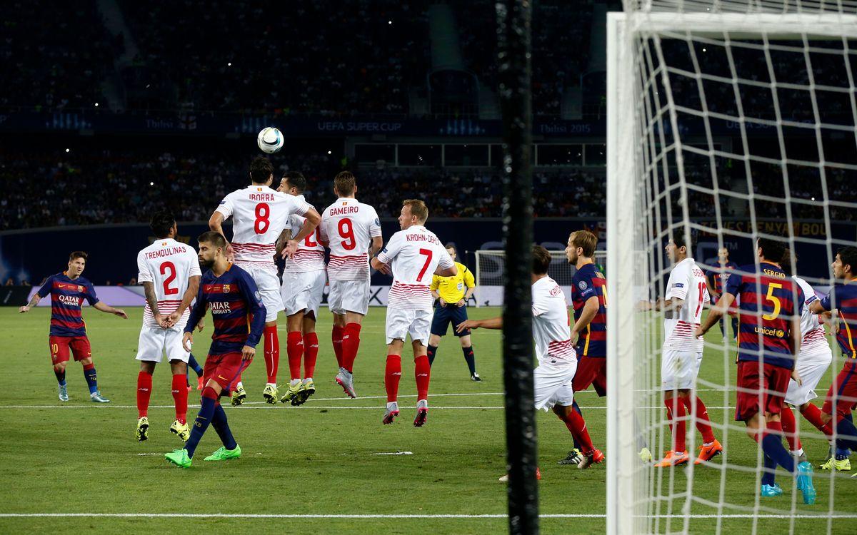 Sevilla v FC Barcelona on October 3 at 4.00pm CET