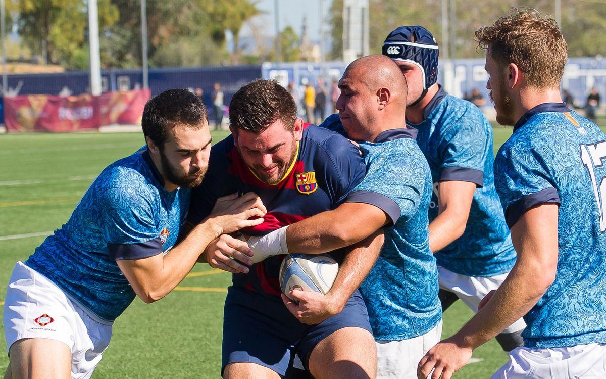 El Barça de rugby cae en casa (22-34)