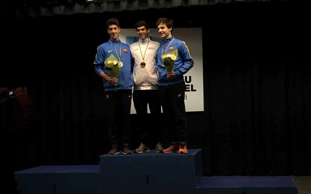 Dos azulgranas en el podio en el Open Internacional ISU de Andorra