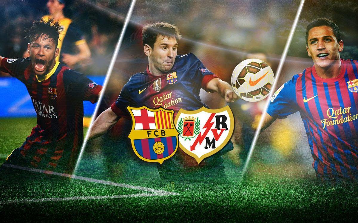 Millors gols contra el Rayo al Camp Nou