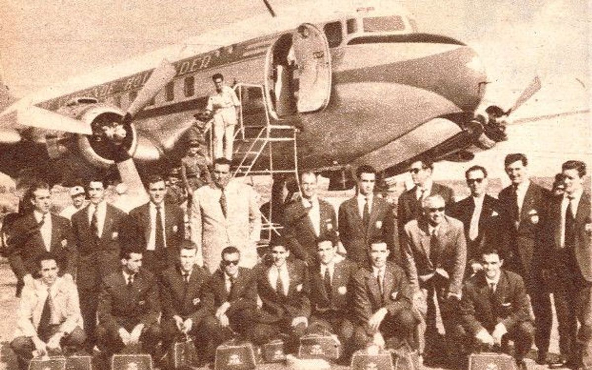 Caracas 1953: The first ever meeting between FC Barcelona and AS Roma