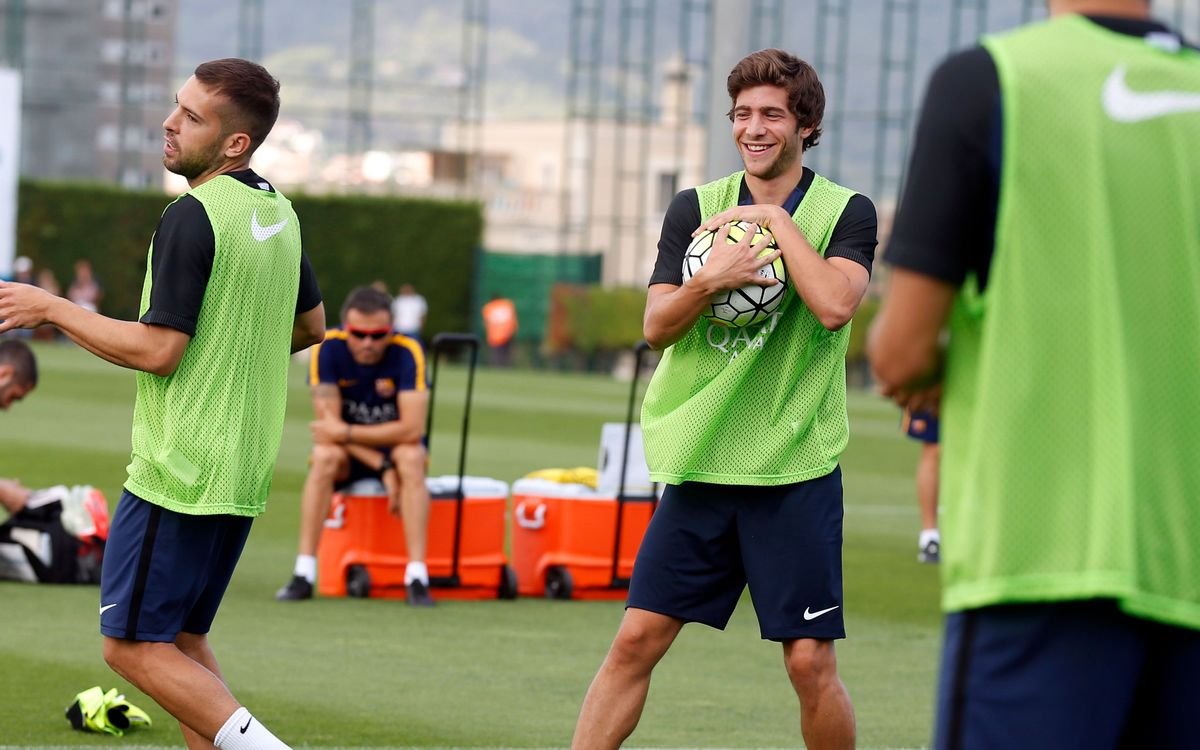 Sergi Roberto is savouring the moment
