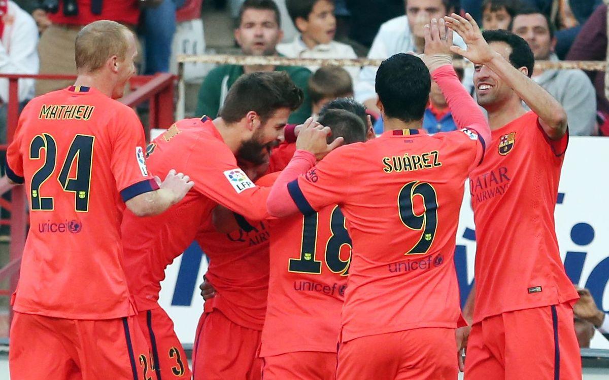 Els darrers precedents del Sevilla FC - FC Barcelona a la Lliga