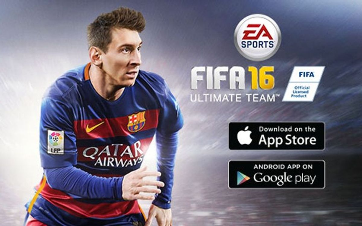 New FIFA 16 Ultimate Team mobile app puts FC Barcelona centre stage