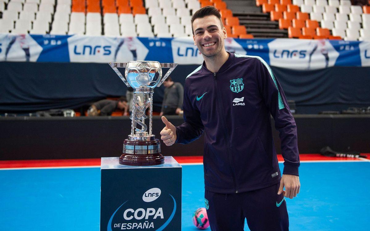 Lozano vuelve a la Copa tres años después