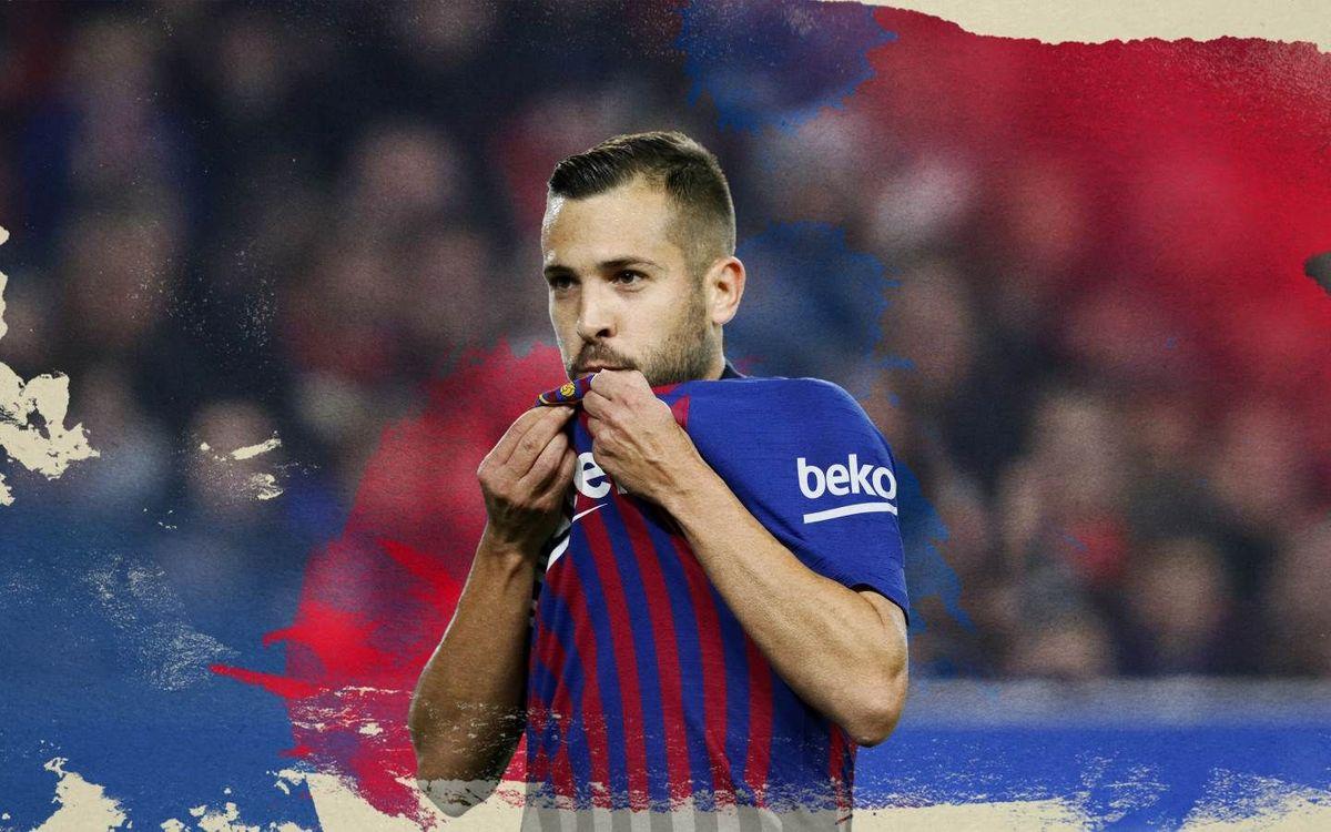 Jordi Alba, renovado hasta 2024