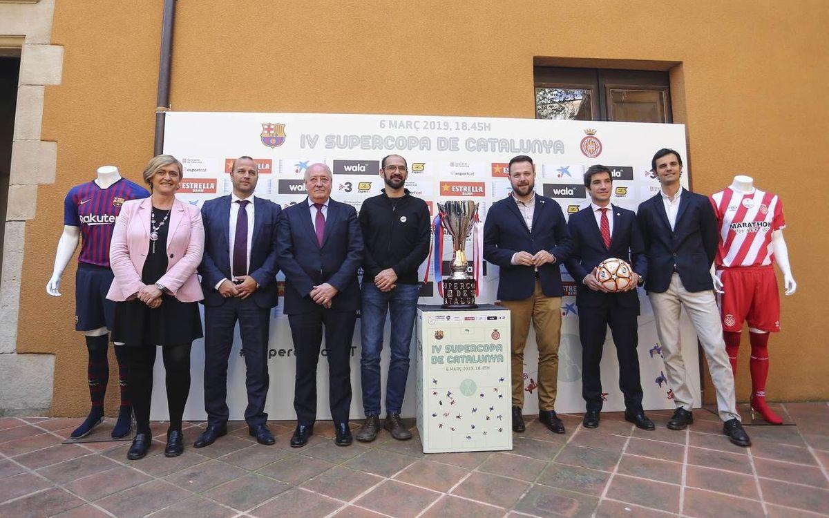 Presentada la Supercopa de Catalunya a la Casa Duran