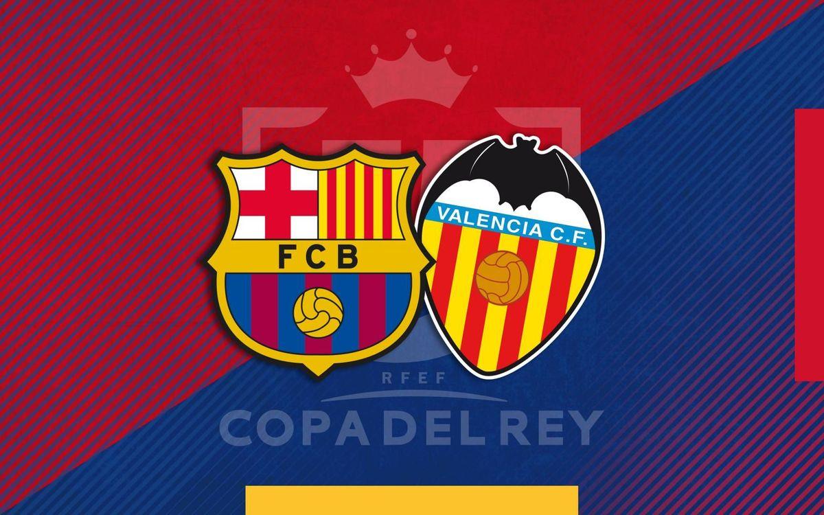 El València serà el rival a la final de Copa