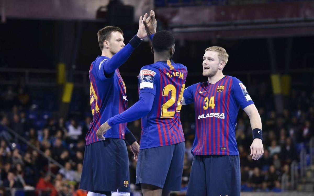 Barça Lassa – Rhein-Neckar Löwen: Es tanca la fase de grups sense pressió
