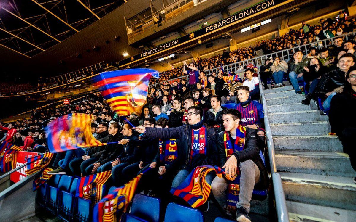 La Match Party Estrella Damm del Camp Nou vuelve a vivir un triunfo en el Bernabéu