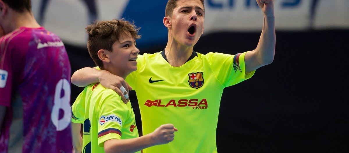 Campeones de la Minicopa de Fútbol Sala (7-8)