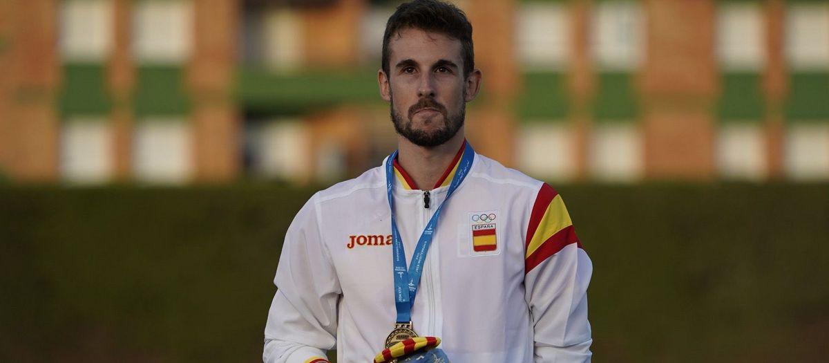 Álvaro de Arriba es proclama campió d'Europa dels 800 metres