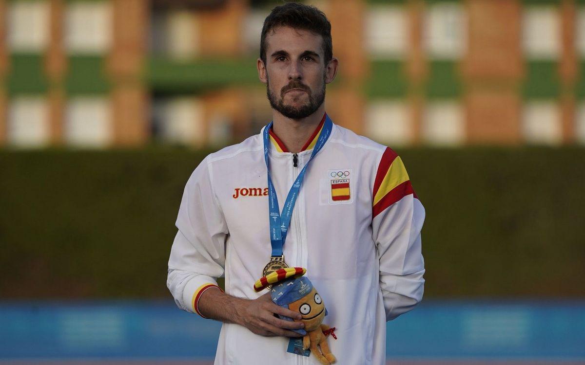Álvaro de Arriba se proclama campeón de Europa de los 800 metros