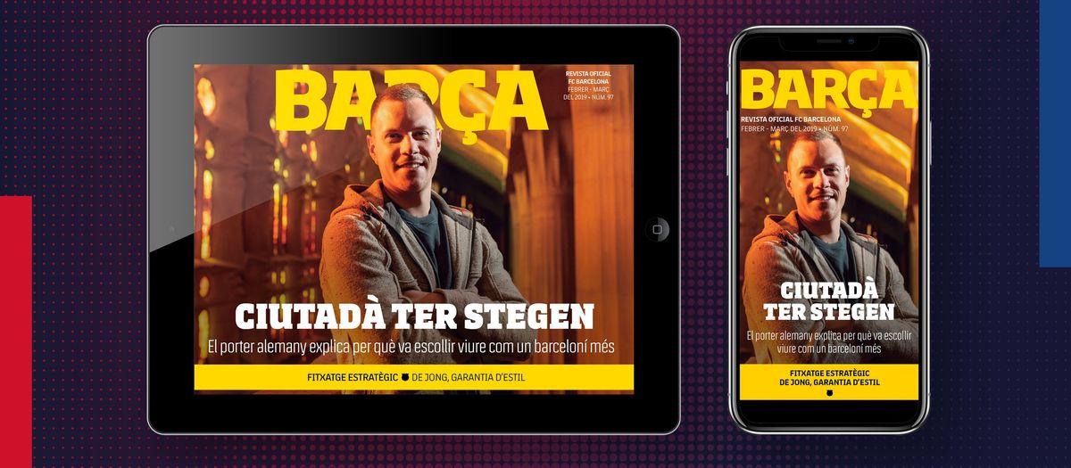 La 'Revista Barça' estrena una nova versió multimèdia