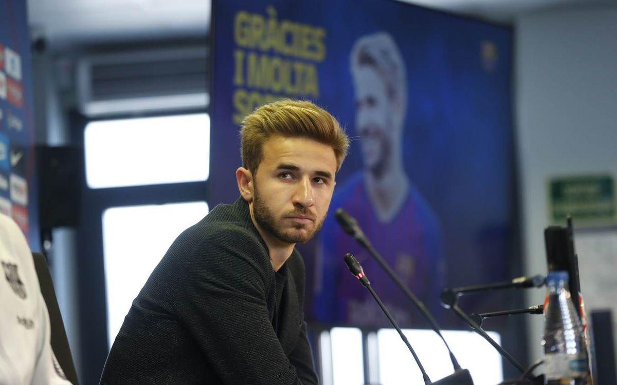 S. Samper : 'Je pars mais n'oublierai pas mon Club'