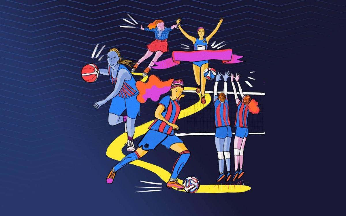 El Barça celebra el Dia Internacional de la Dona amb la jornada 'Barça: femení, plural'