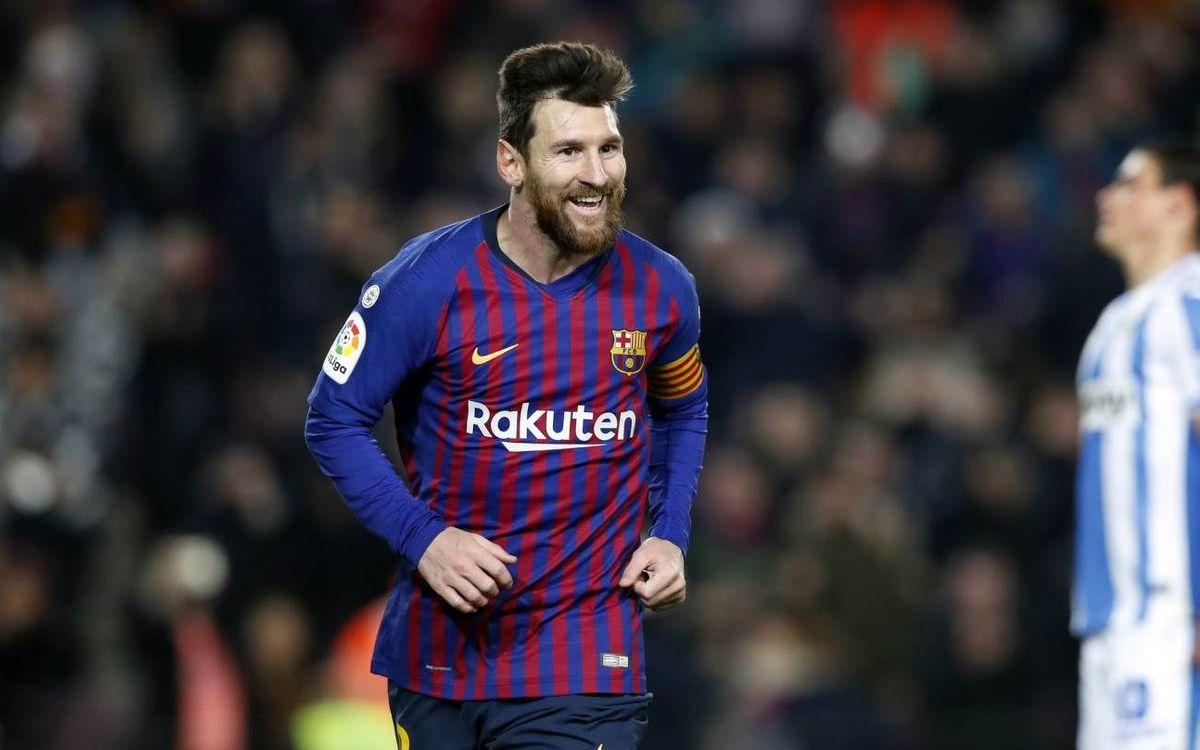 Messi, citado por la selección argentina