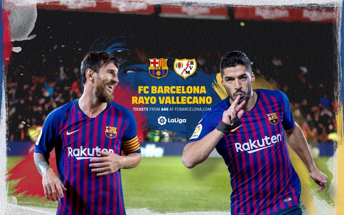 When and where to watch Barça v Rayo