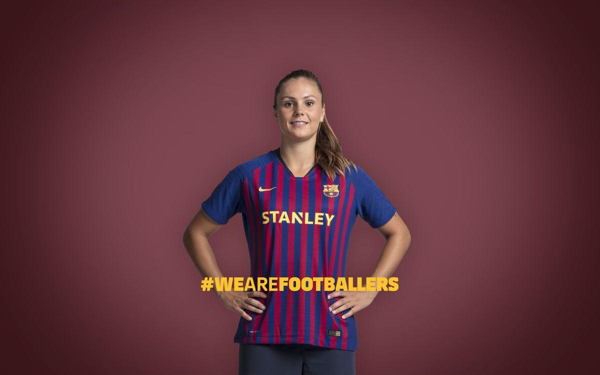 'El futbol és per a futbolistes', la nova campanya del Femení