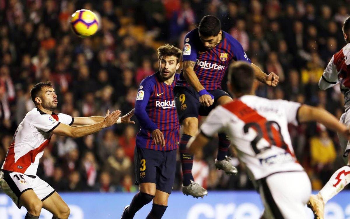 Los retos azulgrana en el Barça-Rayo