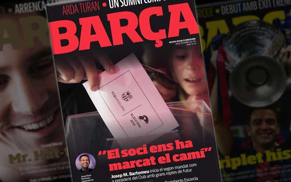 Les eleccions i els nous fitxatges, a la 'REVISTA BARÇA'