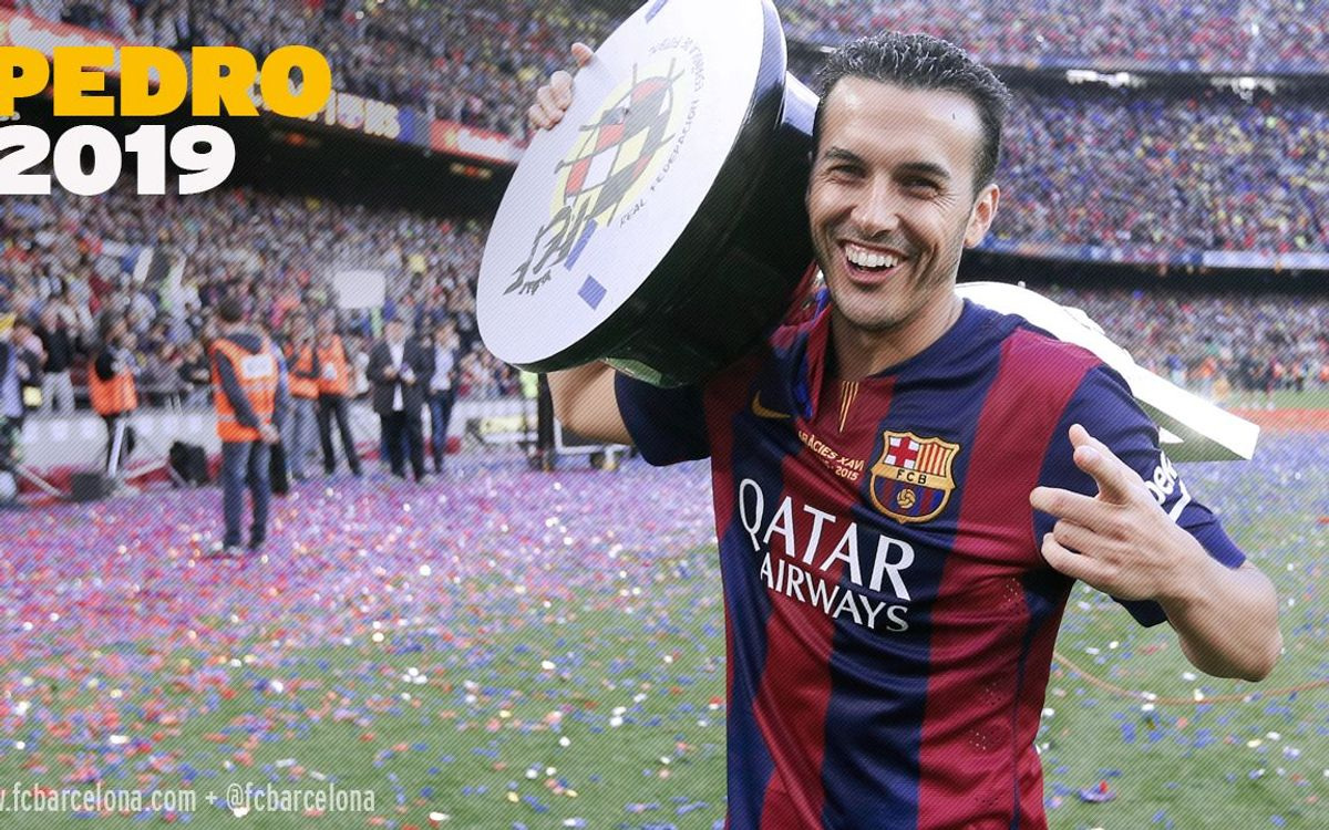 Pedro renews contract until 30 June 2019