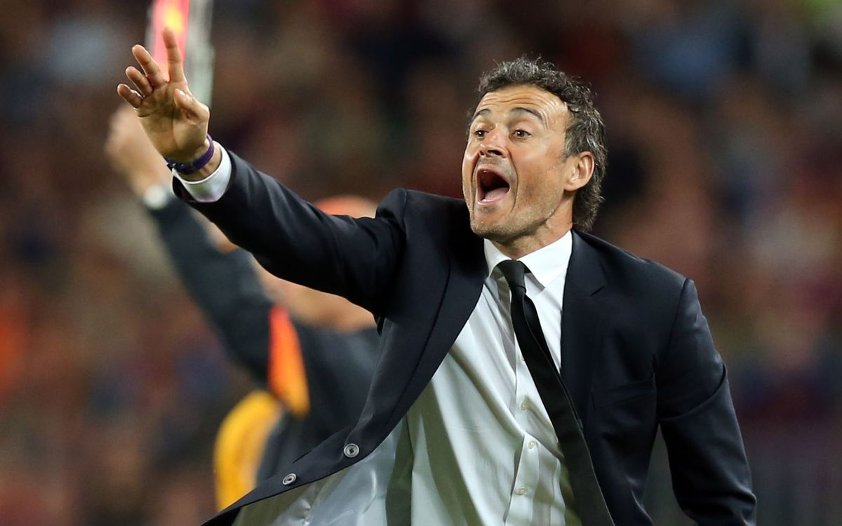 Luis Enrique is the eleventh coach to make the UCL Final in his debut season