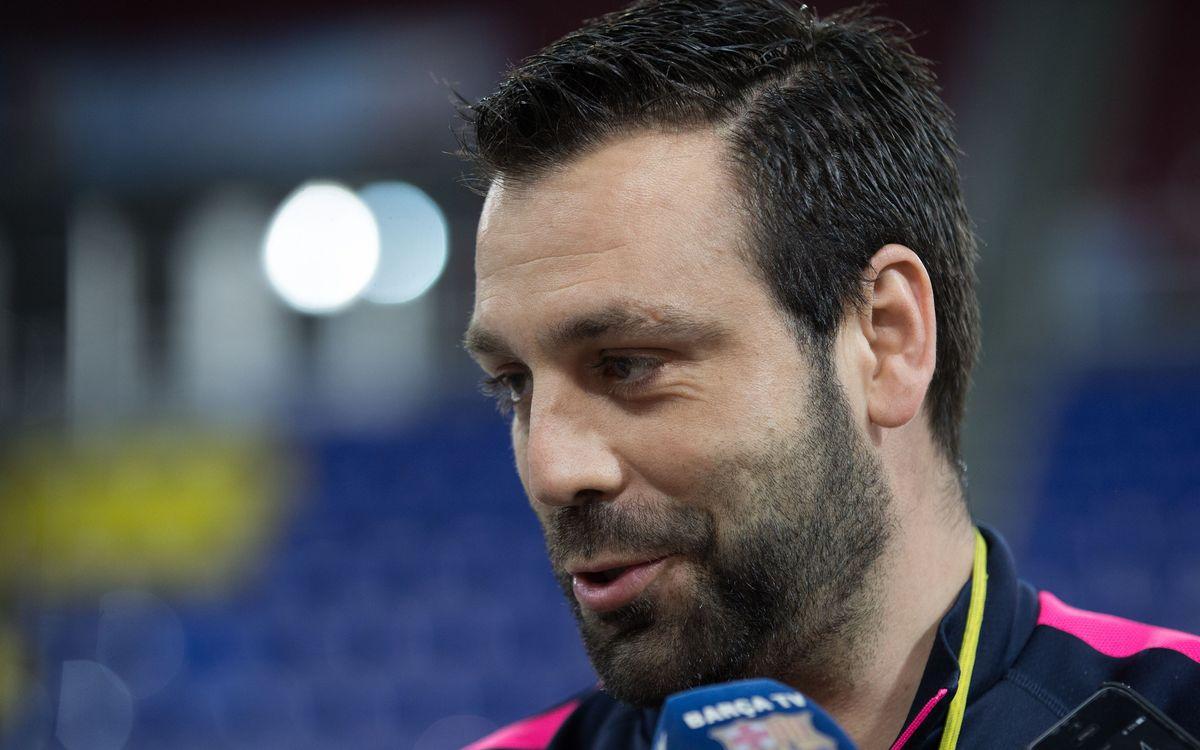 """Ricard Muñoz: """"Estem il·lusionats per tancar el campionat"""""""
