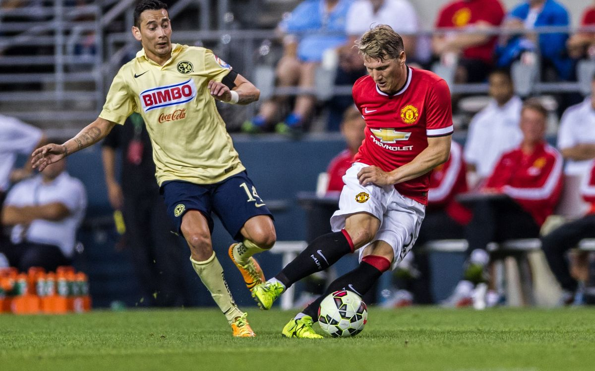 Manchester United beat América in International Champions Cup (0-1)