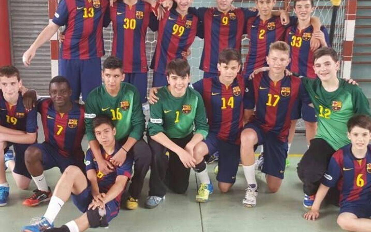 FC Barcelona - Granollers: Amb el cap ben alt (31-37)