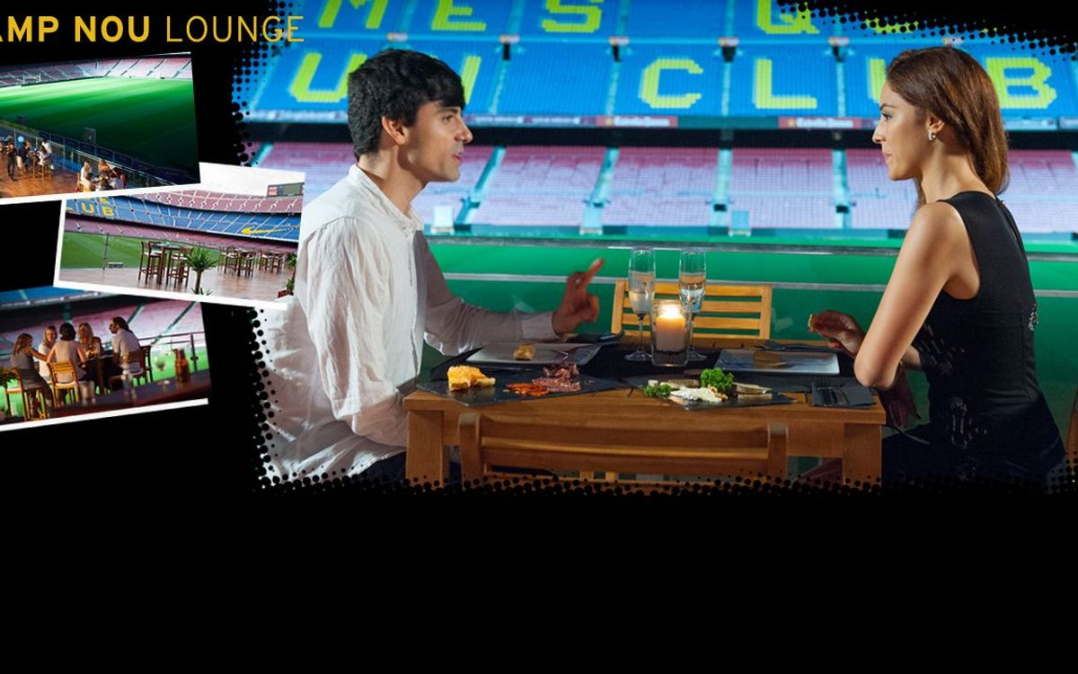 The Camp Nou Lounge is back, the ideal way to savour FC Barcelona