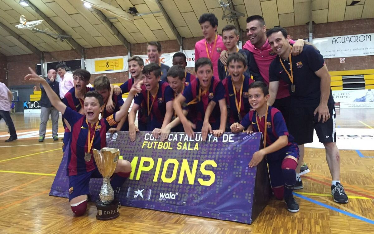 El Juvenil, campió d'Espanya, i l'Infantil i l'Aleví, campions de Catalunya